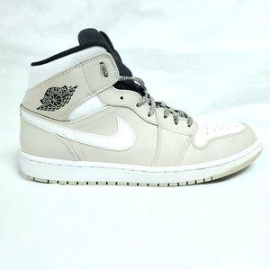 Nike Air Jordan 1 Desert Sand Mens Sz 10.5 Shoes